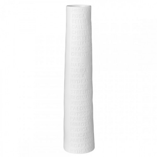 Vase soliflore porcelaine blanche GM (Räder)