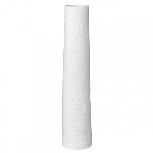 Hight Vase soliflor with text (Räder)