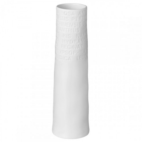 Vase soliflore porcelaine blanche (Räder)