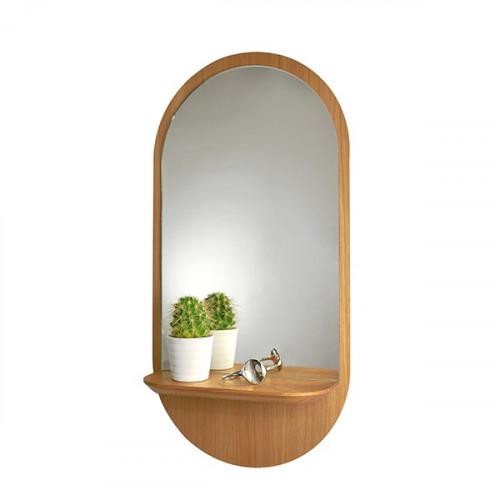Miroir ovale et tablette, Solstice (Reine Mère)