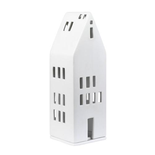 Photophore porcelaine, maison Sans cheminée (Räder)