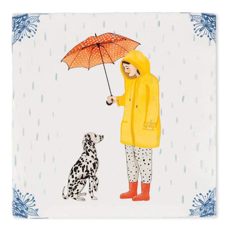 Tiles decor It's raining dogs (Story Tiles)