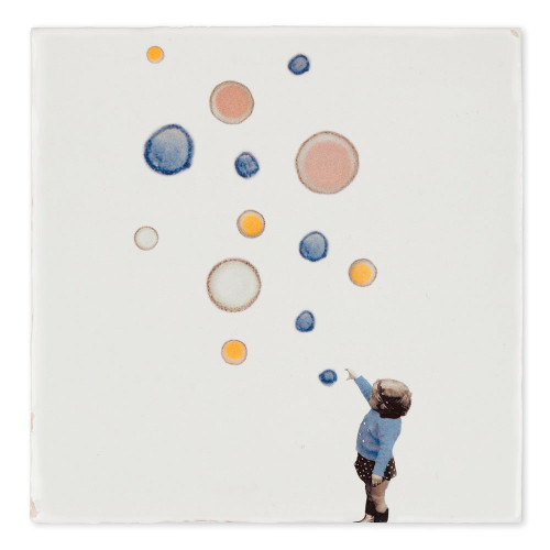 Tiles decor Catching bubbles (Story Tiles)