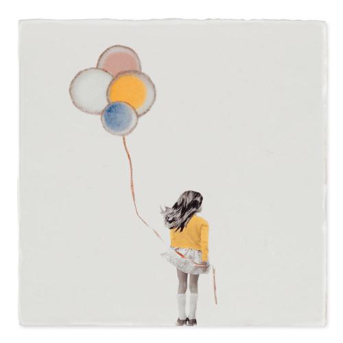 Carreau céramique, A wish balloon (StoryTiles)