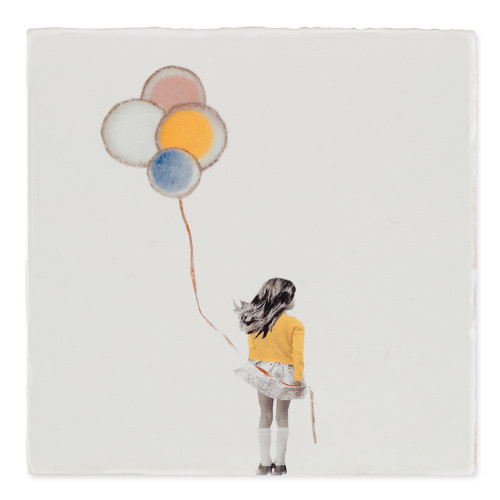 Carreau céramique, A wish balloon (StoryTiles)