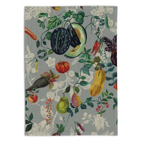Torchon en lin, Légumes (Avenida Home)