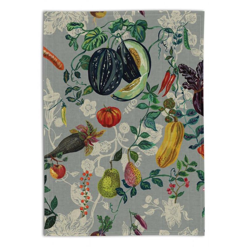 Torchon en lin, Les légumes (Avenida Home)