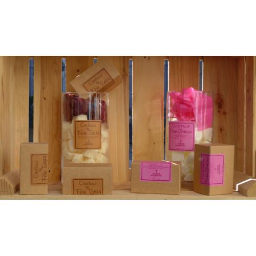 Boîte de cailloux parfumés à fondre, Frangipanier (Le Jardin de Mon Grand-Père)