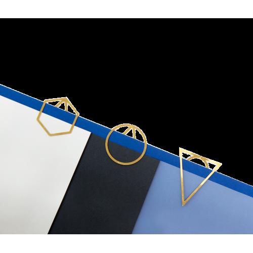 Set 3 trombones triangle en laiton (Fundamental Berlin)