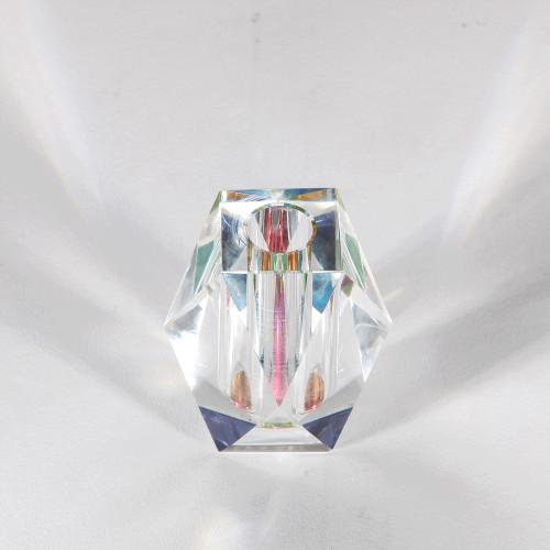 Vase soliflore cristal Arc en ciel (Fundamental Berlin)