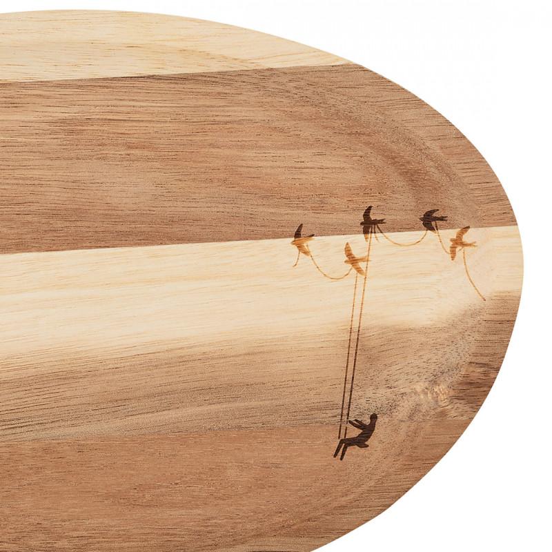 plateau vide poche en bois wonderland r der pomme piment. Black Bedroom Furniture Sets. Home Design Ideas
