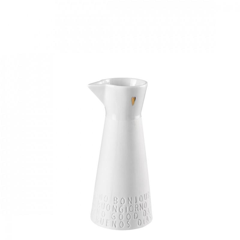 Pot à lait (crémier) porcelaine décorée (Räder)