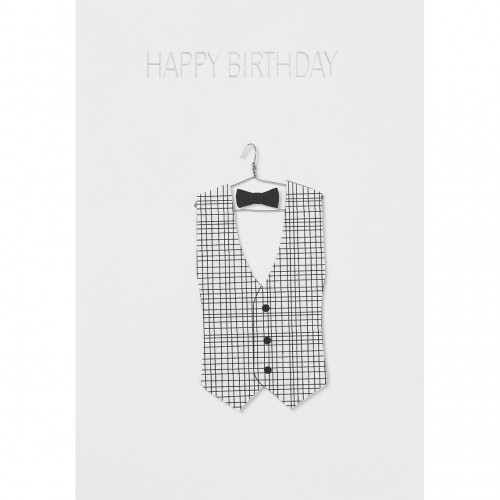 Carte fantaisie, Monsieur Happy Birthday (Räder)