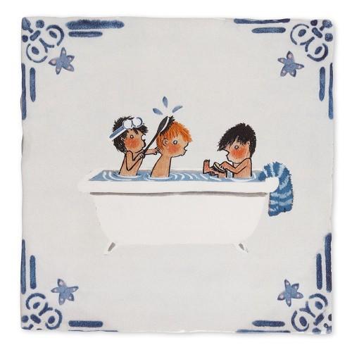 careau céramique Bath time (StoryTiles)
