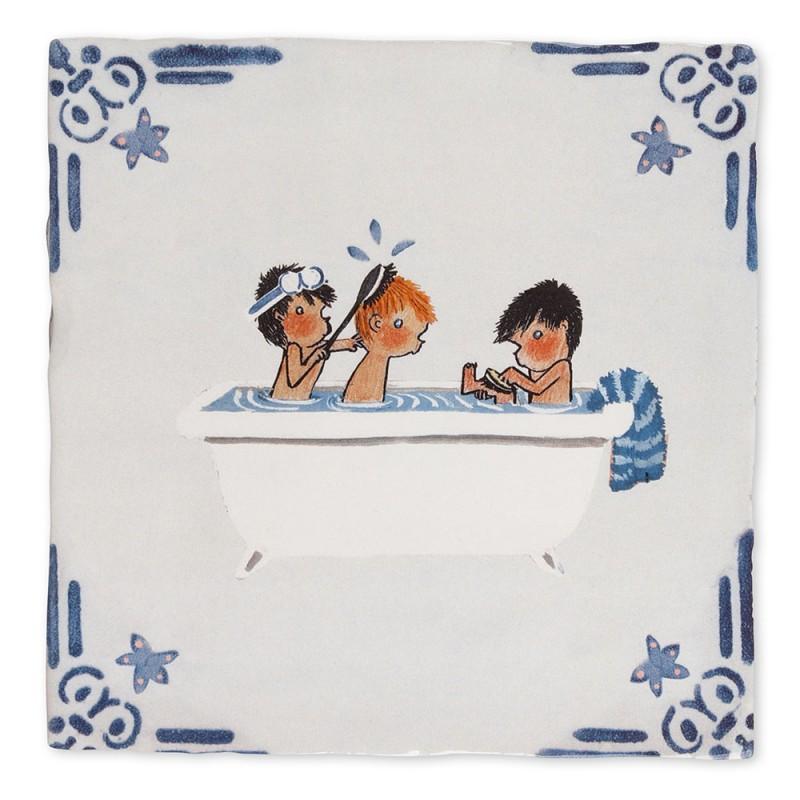 Carreau céramique Bath time (Story Tiles)