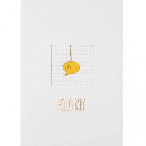 Carte fantaisie, Hello Baby (Räder)