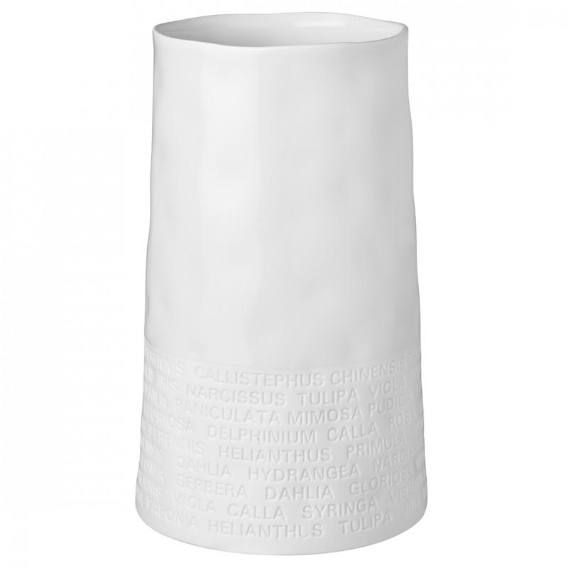 Vase en porcelaine botanique (Räder)