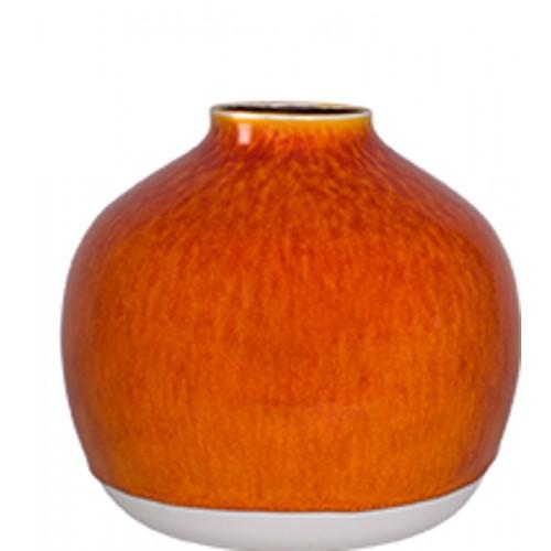 Vase boule jaune citron (Jars Céramistes)