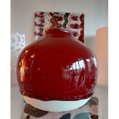 Vase Nèfle Rouge (Jars Céramistes)
