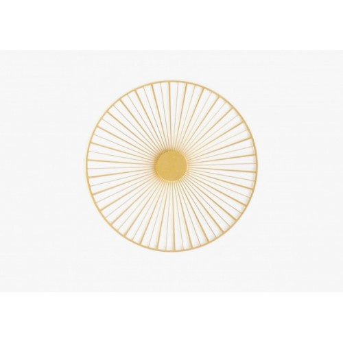 Magnetic brooch Solar, Gold (Tout Simplement)