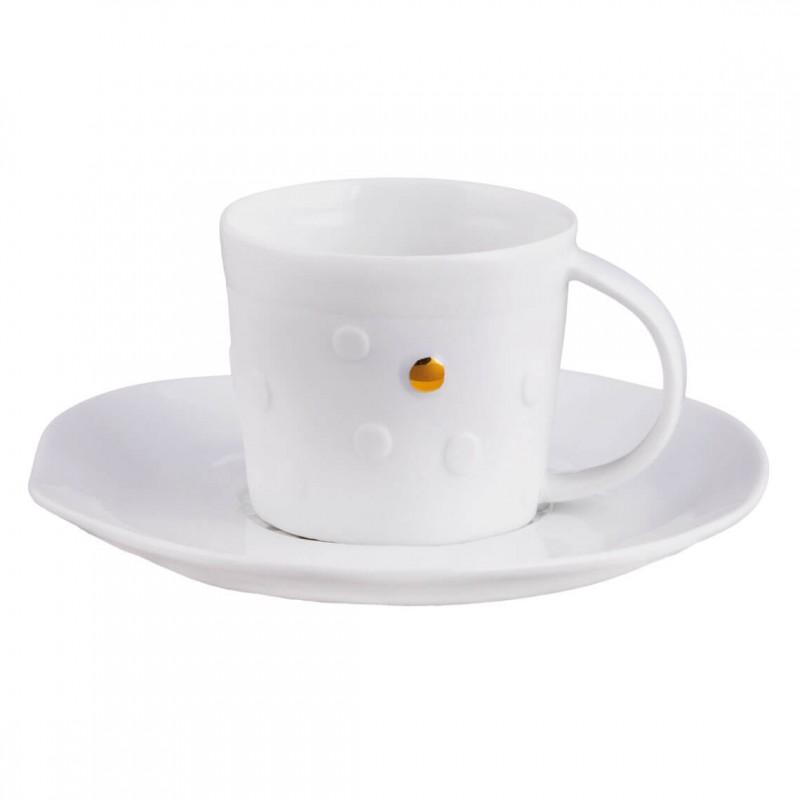 Tasse en porcelaine, Bonjour (Räder)
