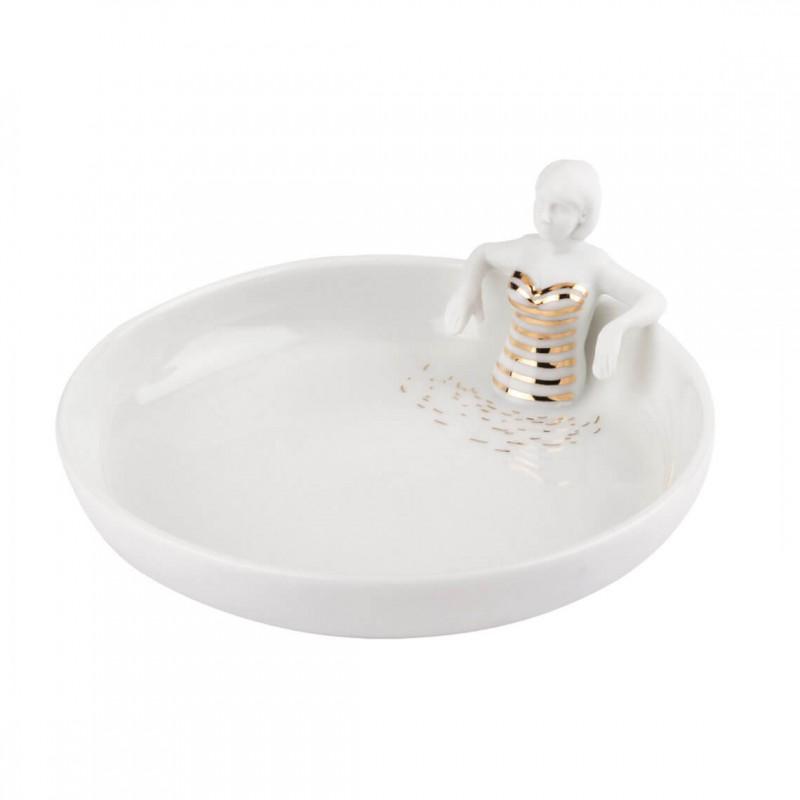 Boîte en porcelaine Petit bâteau (Räder)
