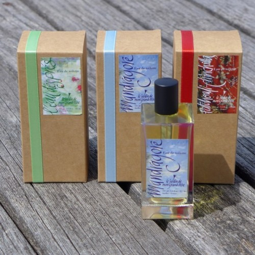 Body Perfume, Patchouli & Chinchilla (Le Jardin de Mon Grand-Père)