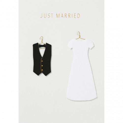 Carte fantaisie, Just Married (Räder)