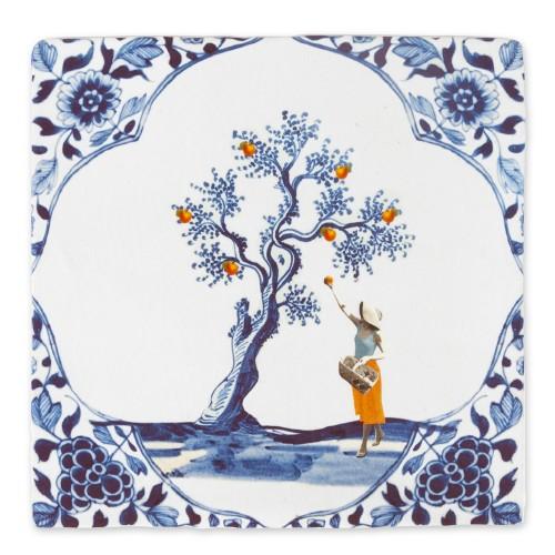 Carreau céramique, Cueillir le Jour (Storytiles)