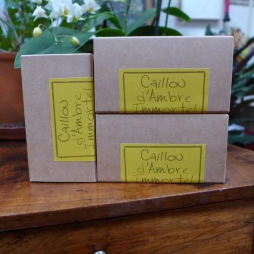 Amber & Immortel flower solid perfume (Le Jardin de Mon Grand-Père)