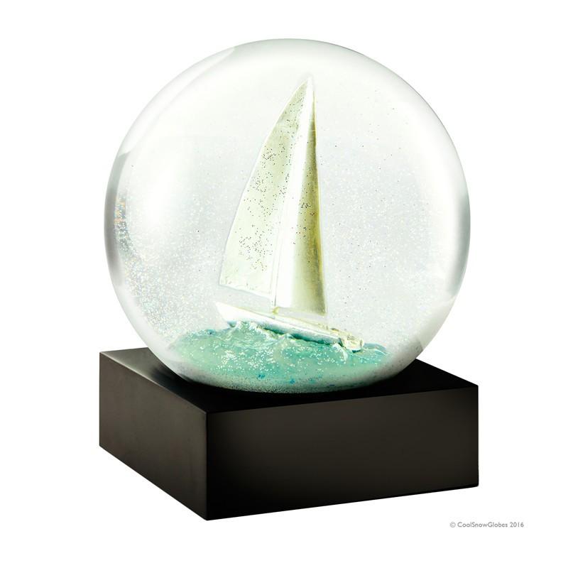 Boule de neige, Sail boat (Cool Snow Globes)