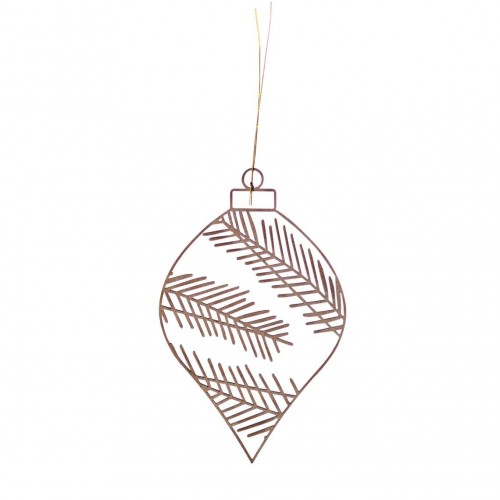 Winter wooden ornament, Fir (Räder)