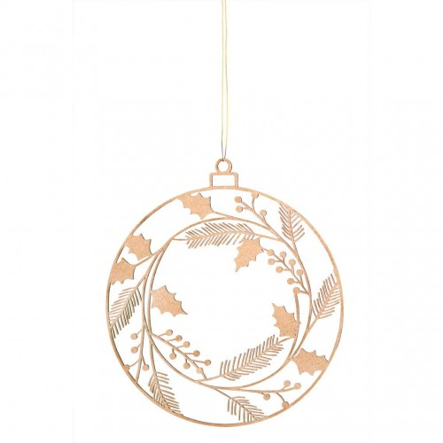 Wooden ornament, Winter wreath (Räder)