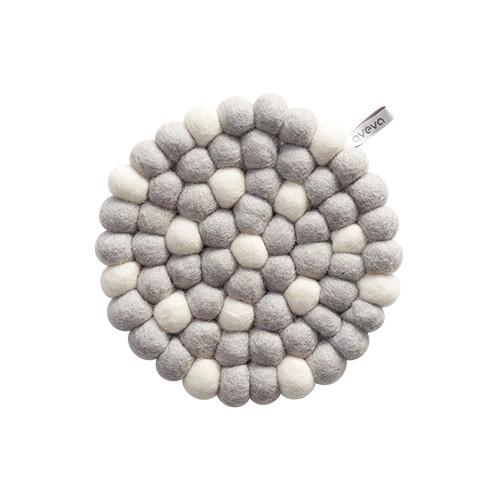 Dessous de plat, Gris et blanc (Aveva Design)