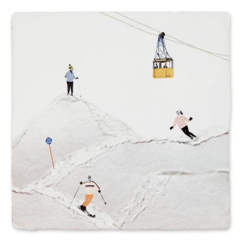 Carreau céramique, Sports d'hiver (StoryTiles)