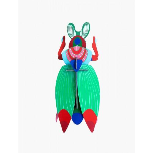 Wall totem, Giant scarab Beetle (Studio ROOF)