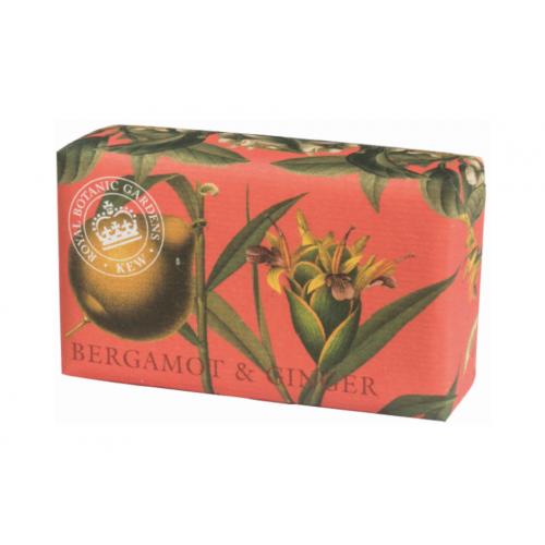 Savon raffiné 240 g Bergamote & gingembre (The English soap Company)