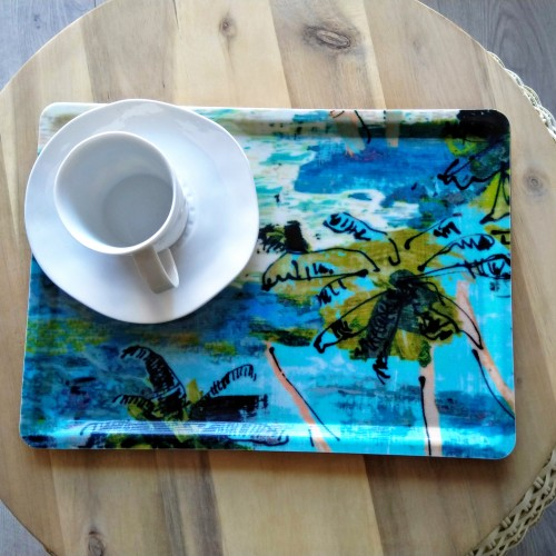 Little tray Fuego indigo (Lalie Design)