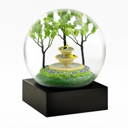 Boule à neige, Fontaine aux chardonnerets (Cool Snow Globes)