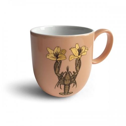Mug en porcelaine, Homard doré (Avenida Home)