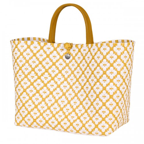 Shopper bag Motif yellow (Handed By)