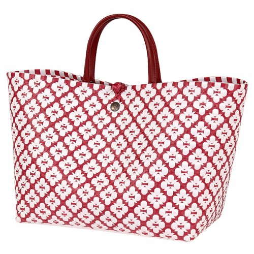 Panier Motif rouge (Handed By)