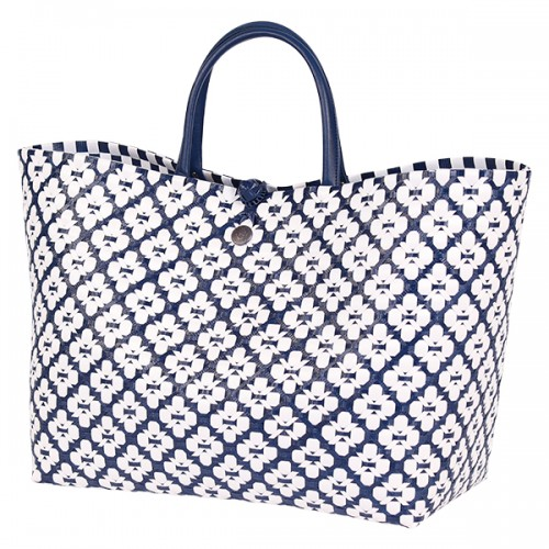 Shopper bag Motif blue navy (Handed By)