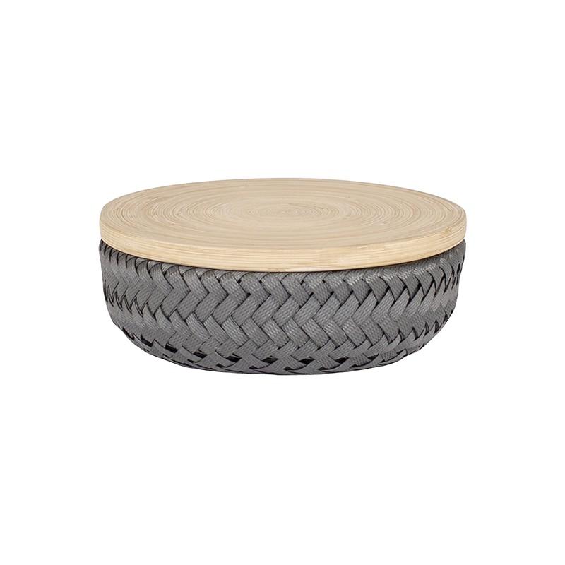 Boîte Wonder round gris PM (Handed By)