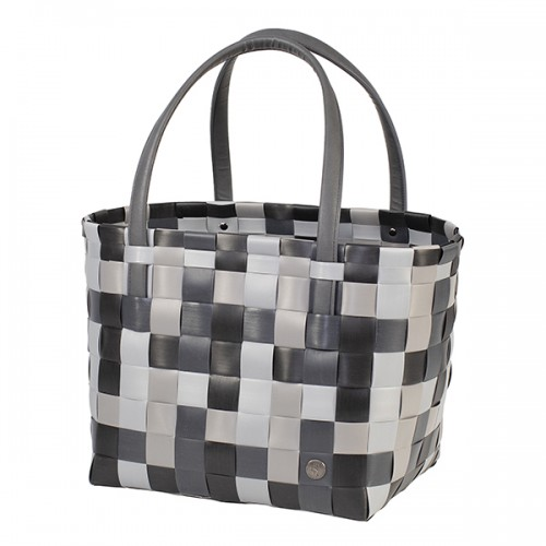 Panier shopper Color block mix Gris foncé (Handed By)
