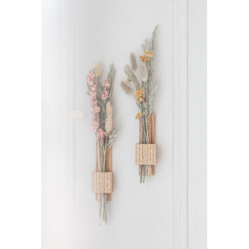 Set of 2 stem vases for dried flowers Hirondelle (Gllu)