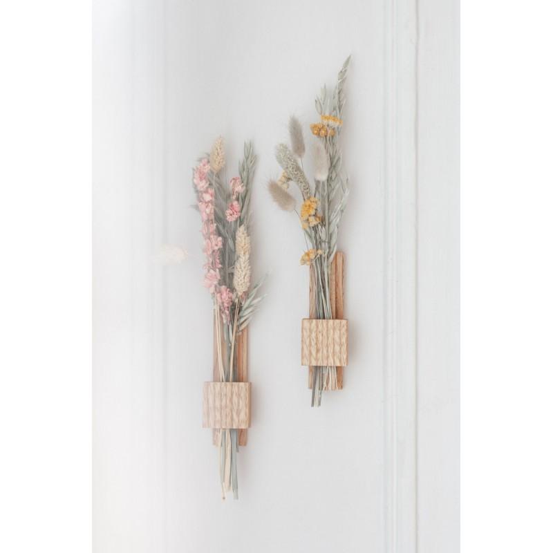 Soliflore mural fleurs séchées Hirondelle (Gllu)