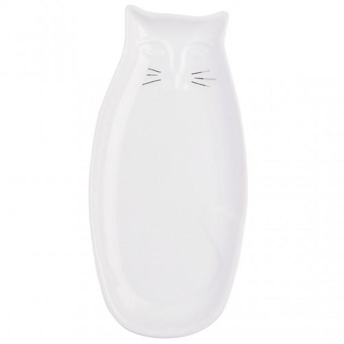 Coupelle en porcelaine en forme de chat (Räder)