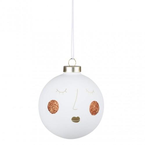 Boule de Noël 10 cm visage Susi (Räder)