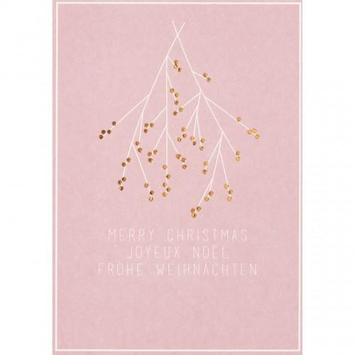Carte postale, Gui de Noël (Räder)
